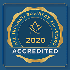 all ireland business all stars accredited badge 2020